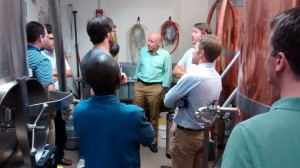 ACRE associates with Dr. Gohmann at a local micro-brewery