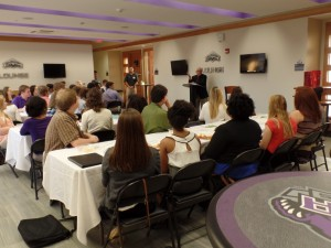 ACRE educational event, Business After Hours, taught students the importance of networking