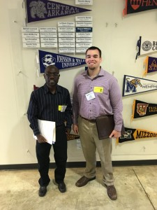 ACRE Research Associates, Mavuto Kalulu and Jacob Bundrick, visit KIPP: a free, open-enrollment, college -preparatory public charter school network that provides education to underserved communities in the Arkansas Delta.