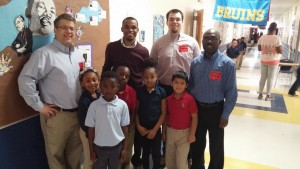ACRE Director Dr. David Mitchell and Policy Analysts Dr. Mavuto Kalulu and Mr. Jacob Bundrick recently visited Capital City Lighthouse Charter School in North Little Rock to witness another example of a charter school making a difference in the lives of Arkansas kids.