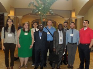 ACRE fellows, affiliated scholars and policy analysts from UCA attend the Society of Business, Industry, and Economics 18th Annual Conference in Destin, Florida, April 13-15, 2016