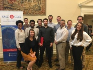 Students enjoyed being able to meet Edward Glaeser at the multi-campus reading discussions at Southern Methodist University in Dallas, Texas.