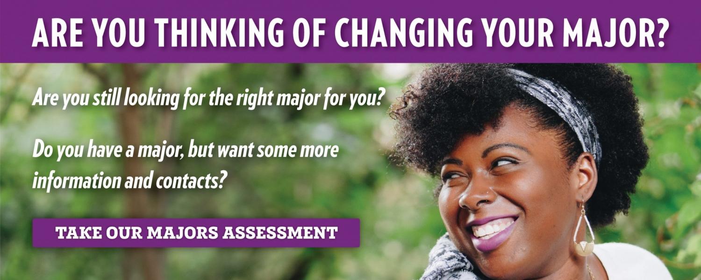 Majors Assessment banner