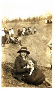 Constance Mitchell, 1923-1924 ASTC Hiking Club.