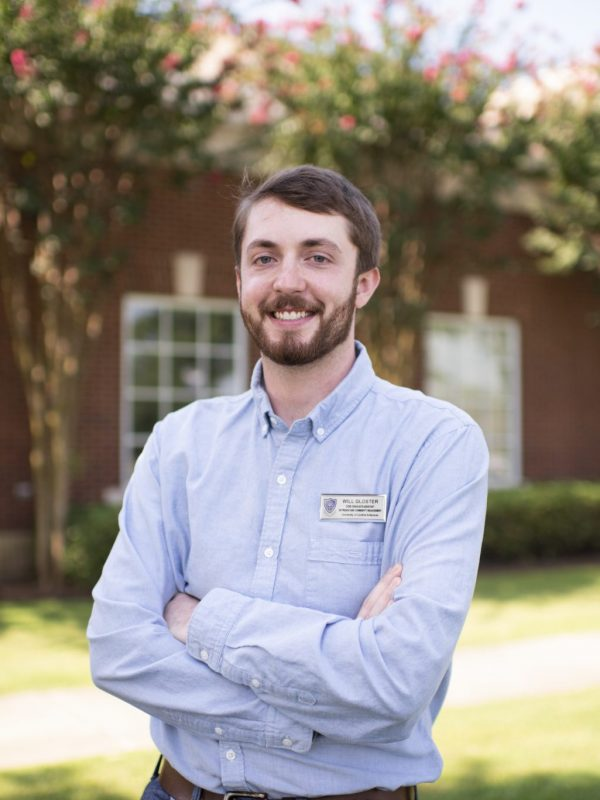 Photo of William Gloster, Administrative and Marketing Coordinator