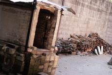 Student Built Fast Fire Wood Kiln