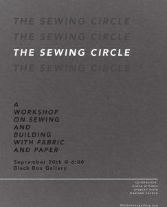 Sewing Circle Workshop