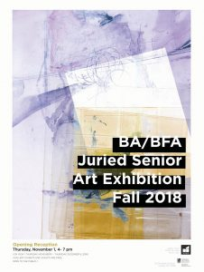 BA/BFA Senior Exhibition