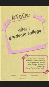 #ToDO: after I graduate college