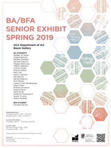 BA/BFA Senior Exhibition Opens
