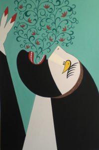 Helen Zughaib, D.C.-based artist, visits UCA