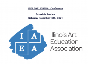 Harlow Speaking at Illinois Art Education Association Fall Conference