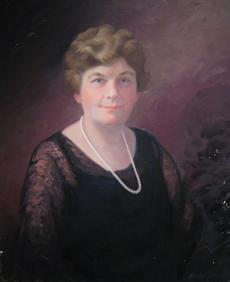 Portrait of Ida Waldron