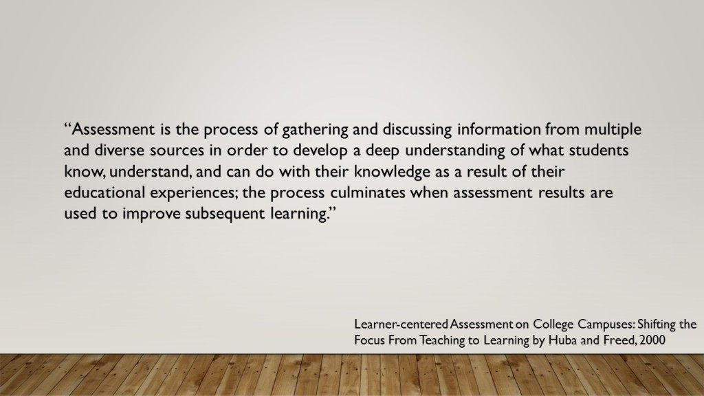 Assessment Definition