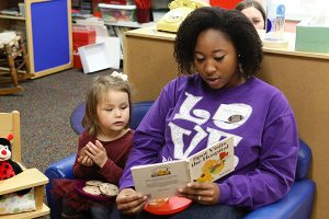 Service Learning Reading to Children