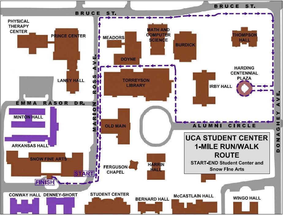 Student Center 1-Mile