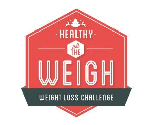 Healthy all the Weigh Challenge Logo