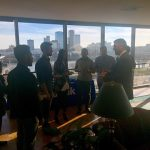 College of Business students tour US Bank location