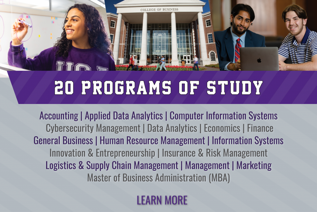 Check out our 20 programs of study!