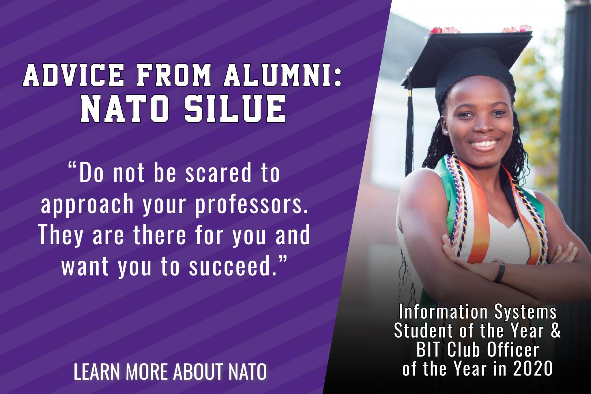 Advice from Alumni: Nato Silue