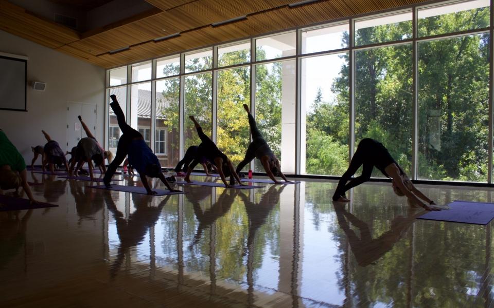 Yoga in Medium Studio