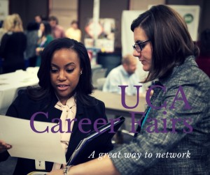 Network at UCA Career Fairs (4)