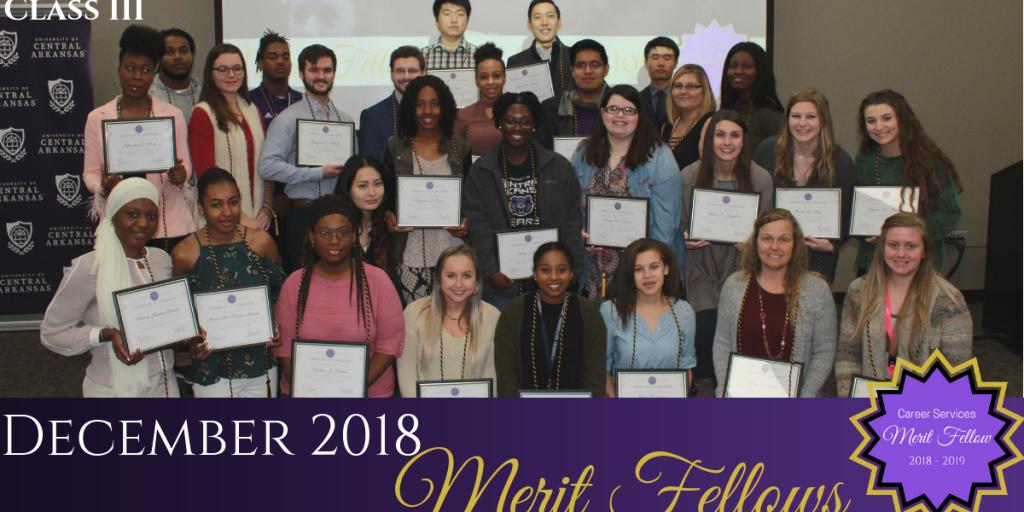 Fall 2018 Merit Fellows