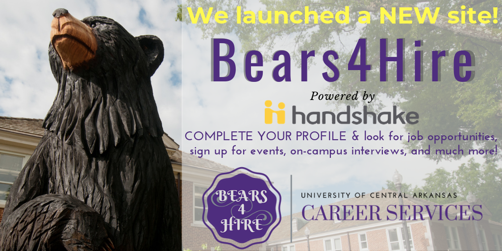 Bears4Hire powered by Handshake website