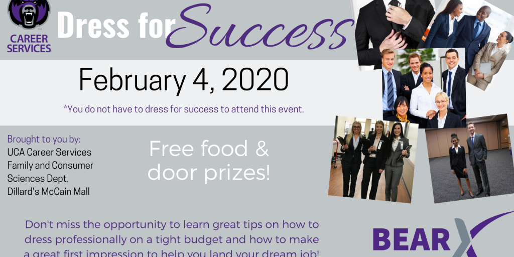 Dress for Success Flyer 2020 (Powerpoint size)