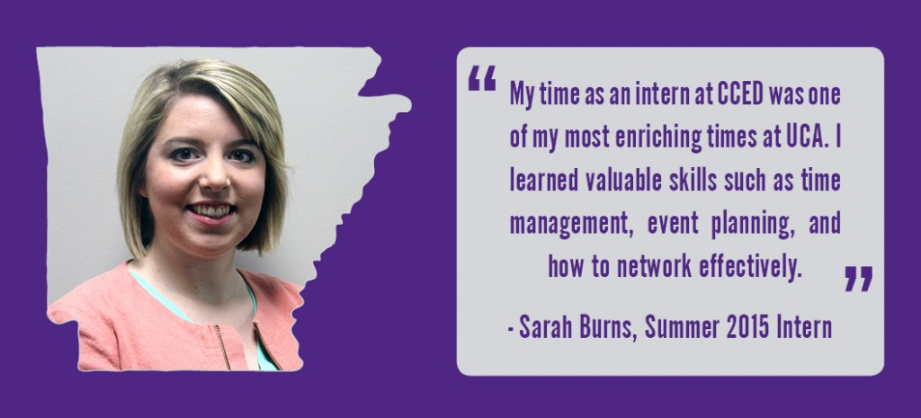 Sarah Burns Intern Testimonial 2015