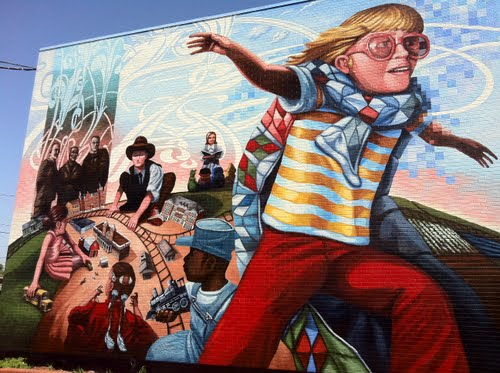 Conway Mural