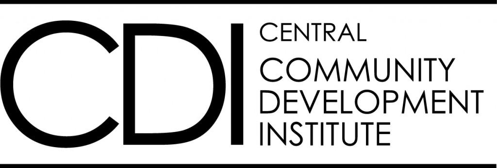 CDI logo horizonal- B&W