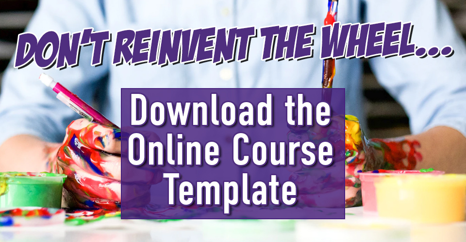 Download the Online Course Template