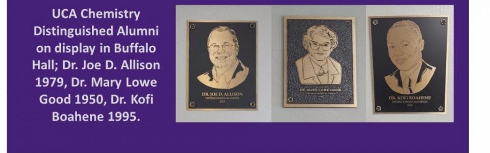 Alumni plaques
