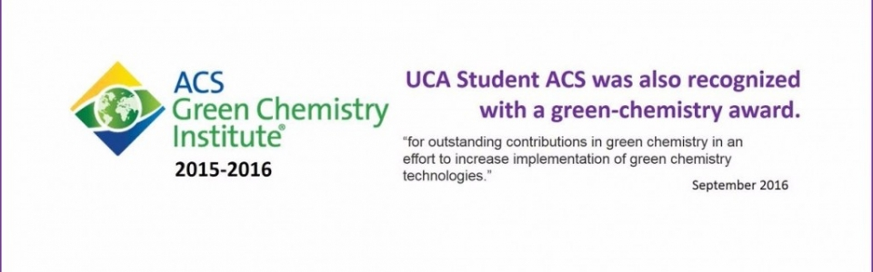 Green Chemistry Award