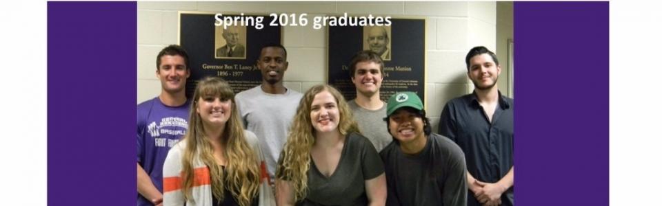 Spring 2016 graduates