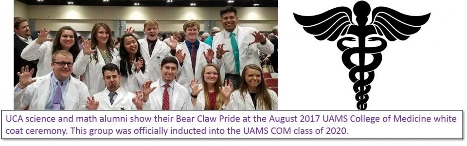 Med school white coat bear claws 2017 smaller (1)
