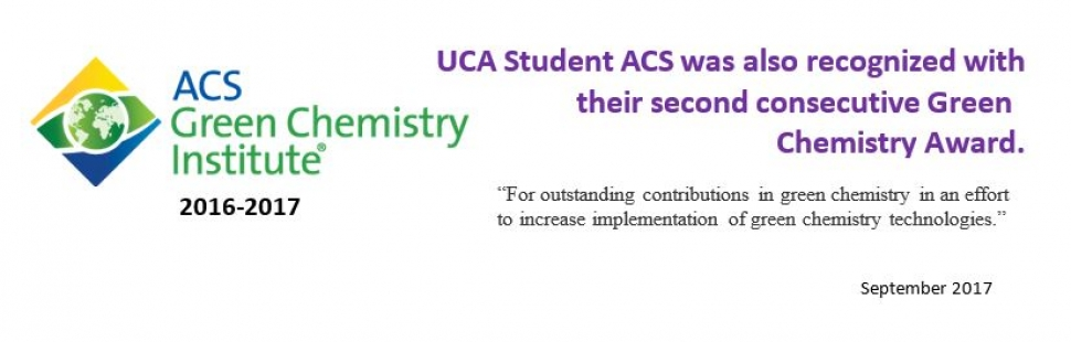 ACS Green Chemistry 2016-2017