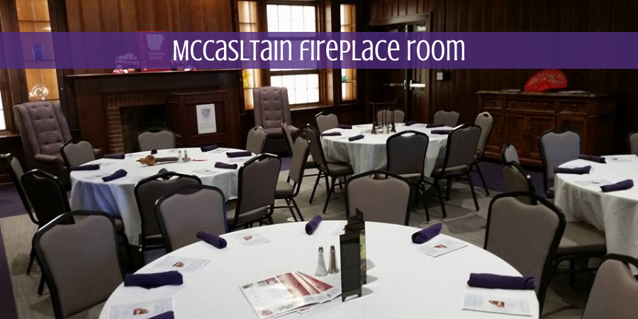 McCasltain fireplace room