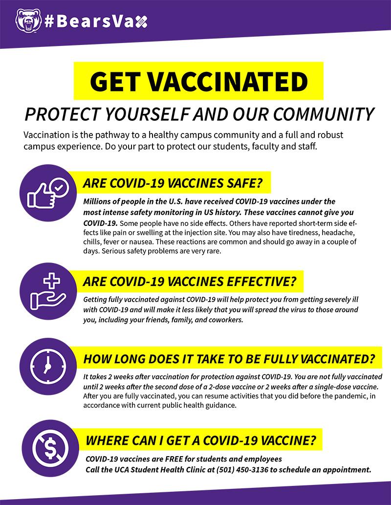 Bears Vaccine Flyer