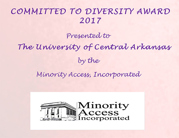 2017 Committed to Diversity Award 2017