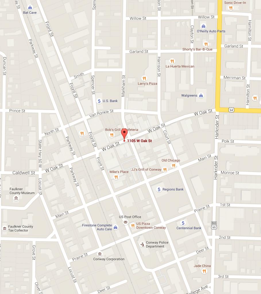 UCA Downtown Map