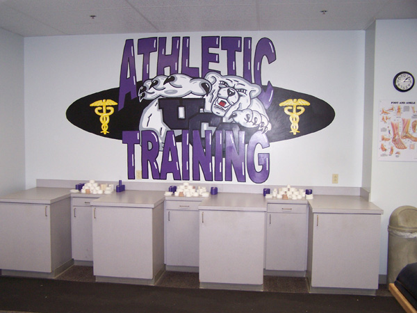 Estes Stadium Athletic Training Room