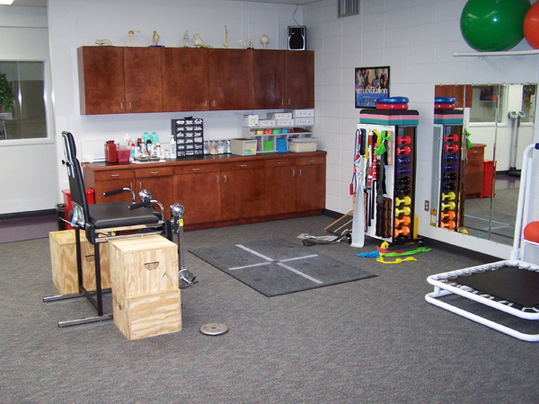 Farris Center Athletic Training Room