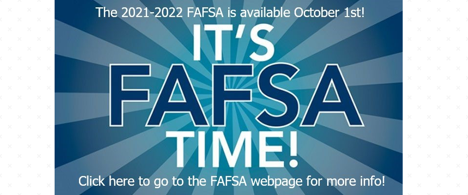 It is FAFSA Time