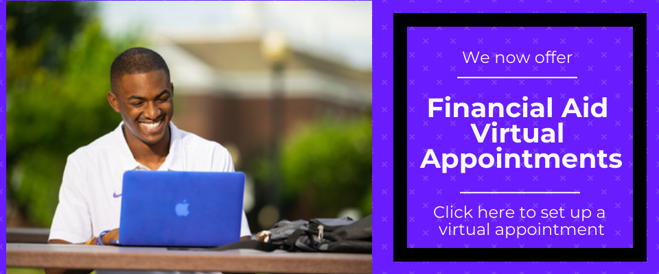 Financial Aid Virtual Appointments