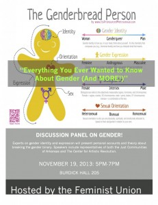 Panel on GENDER 2013 flyer