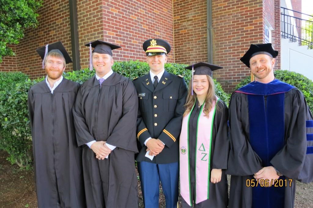 P&A track Spring 17 graduates