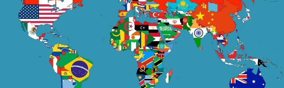 Flag map