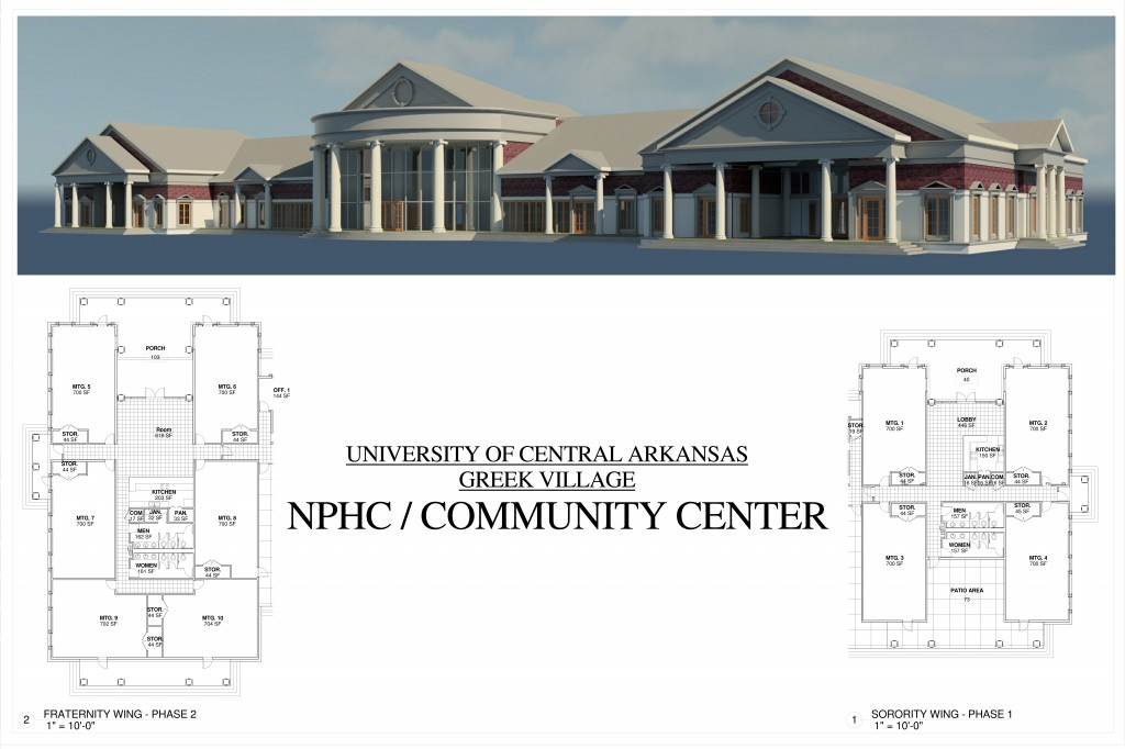 Community Center 1- RENDERING
